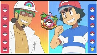 Ash vs kukui   [Full Battle] AMV