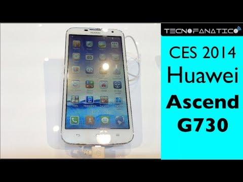 CES 2014 Huawei Ascend G730 - Primeras impresiones