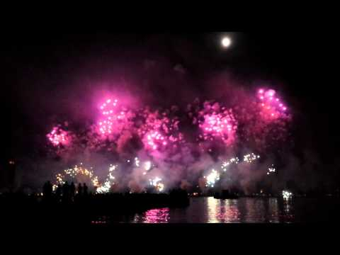BAKU FIREWORK GROUP (Azerbaijan) -FESTIVAL D'ART PYROTECHNIQUE CANNES 2014