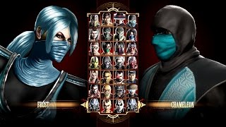 Mortal Kombat 9 Chameleon & Frost(Mortal Kombat X All X Rays - https://www.youtube.com/watch?v=pfMw-FRJvMk More Mortal Kombat Videos ..., 2015-02-02T22:44:45.000Z)