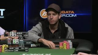 WPT Borgata Winter Poker Open $3 Million Guaranteed Championship. Final table