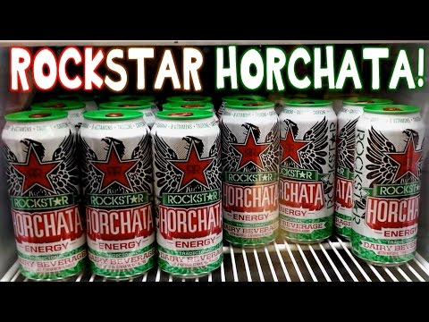 Rockstar Horchata Energy Drink Review #foodporn | FreakEating on the Run 36