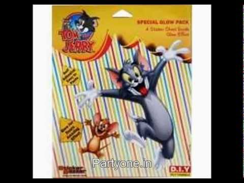 Tom And Jerry Party Supplies Birthday Theme Party Supplies Youtube