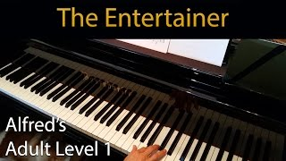 The Entertainer (Early-Intermediate Piano Solo) Alfred