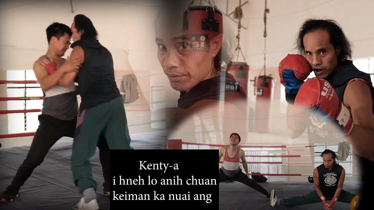 My Rocken Sir bulah Boxing ka training