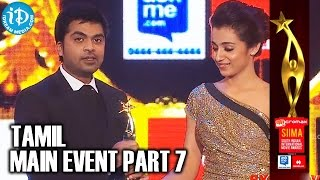 SIIMA 2014 Awards | Tamil Main Event | Part 7