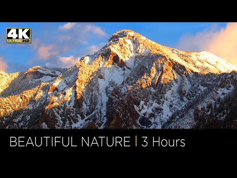 4K Relaxation Beautiful Nature - 3 Hour