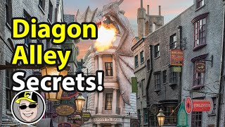 Top 6 Diagon Alley Hidden Gems | Secrets of Diagon Alley
