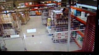 ghost activity caught on cctv