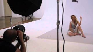A look behind the scenes at stunning Amber Heard's cover shoot