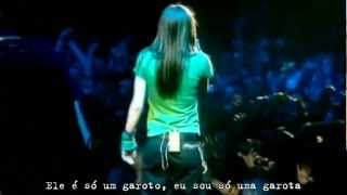Avril Lavigne - Sk8er Boi (Live in Dublin 2003) Legendado #HD