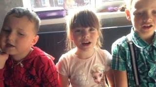 дети читают стих из фильма Брат 2