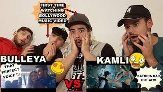 """BULLEYA"" VS. ""KAMLI"" KPOP Friends Watching First Time Bollywood MUSIC VIDEO Reaction [GERMANY]"