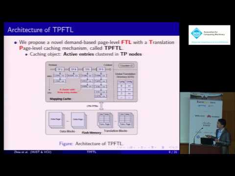 An efficient page-level FTL to optimize address translation in flash memory