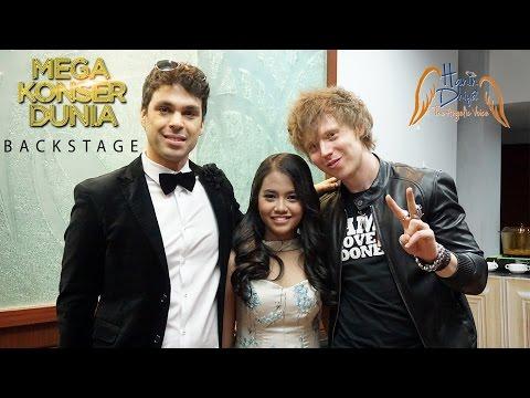 Mega Konser Dunia BACKSTAGE with Hanin Dhiya