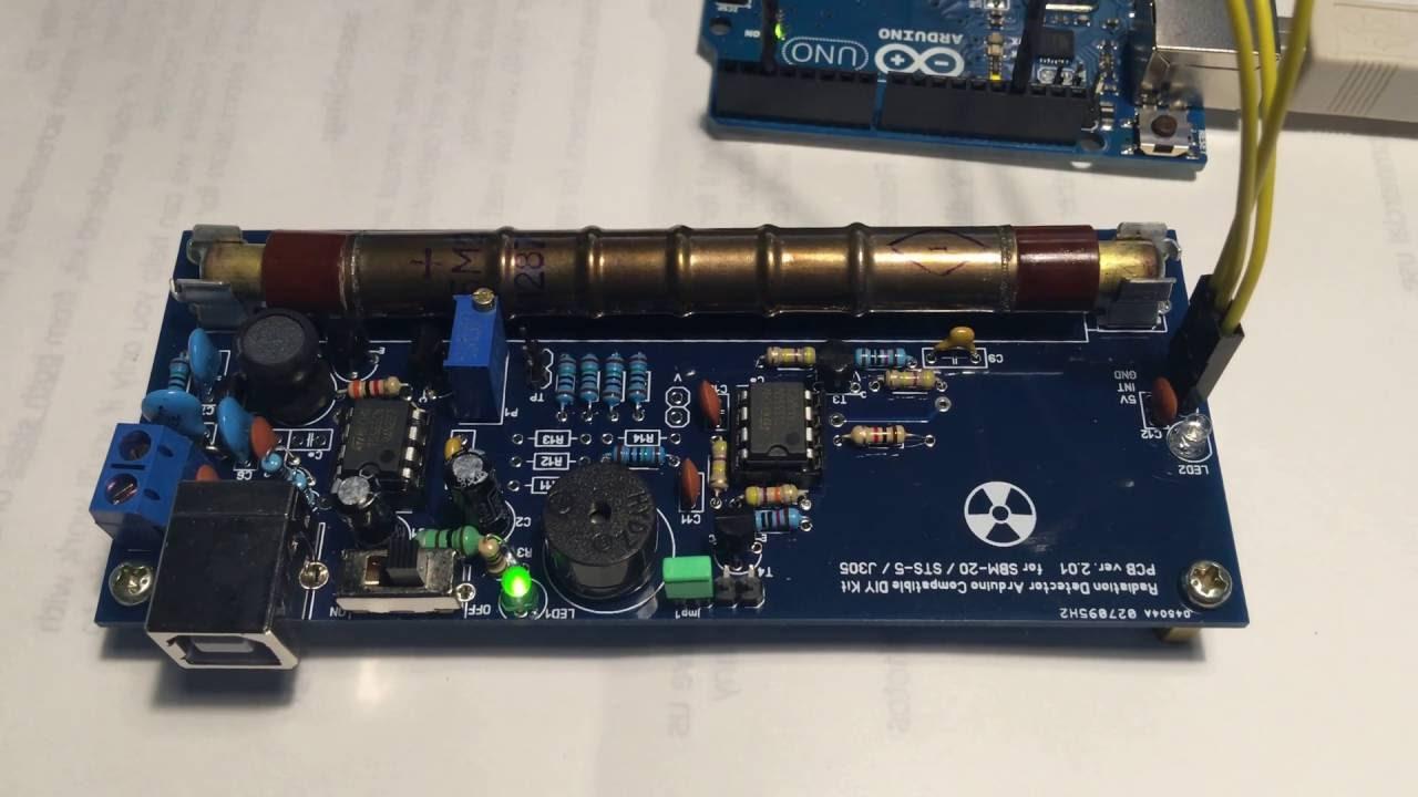 Radiation detector diy kit arduino compatible ver