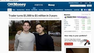 Millennial Makes Millions Trading Penny Stocks - Over $200,000 In One Month!