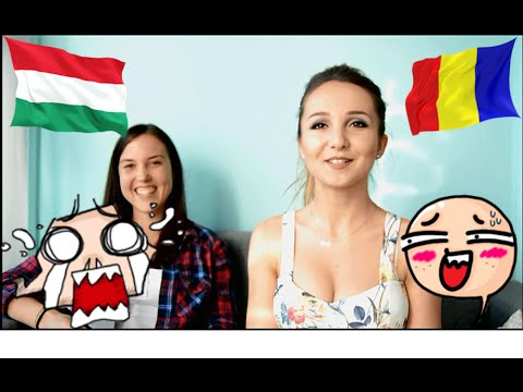 girls Romanian and hungarian