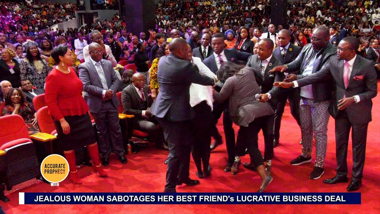 UNBELIEVABLE!! A FIGHT breaks out in AMI - Accurate Prophecy with Alph LUKAU