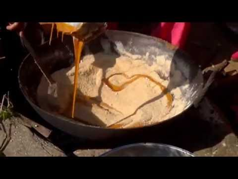 "how to make ""Kasar"" कसार कसरी बन्छ ? - nepali traditional food"