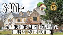 Arlington VA's Most Expensive Houses - 2018 Edition | Top 5 Highest Priced Homes in Arlington VA