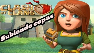 Como jugar Clash Of Clans subiendo copas | Clash Of Clans | Español