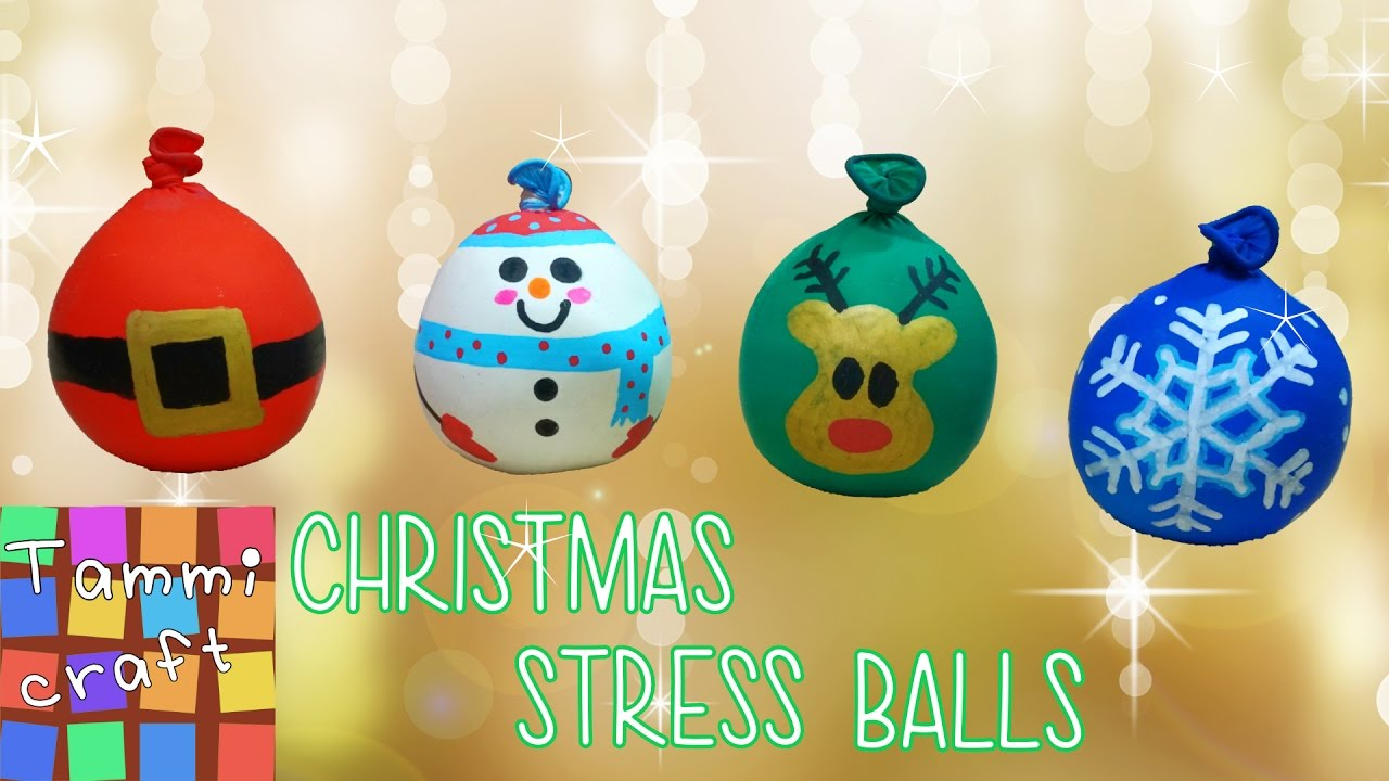 How to Make Christmas Stress Balls - Tutorial - Great for ...