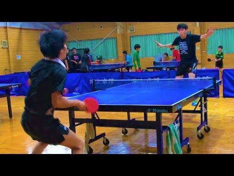 【炸裂】スマッシュマンVSぐっちぃ【卓球知恵袋】Table Tennis