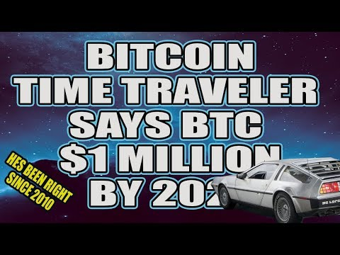 Bitcoin Time Traveler Predicts $1 Million Dollar Bitcoin By 2021 - Hes Been Right Since 2010