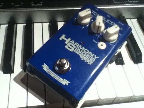 TC Helicon Pedal with Keyboard or Acoustic
