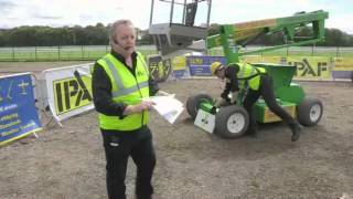 IPAF demonstrate MEWP inspection and maintenance checks with Prolift Access