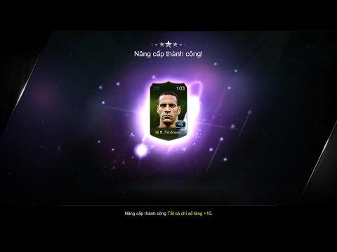 Fifa online 3 Ép thẻ Rio Ferdinand WC06 +5...hóa tím
