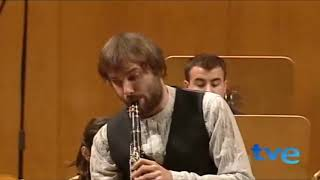 Mozart, Finale of Clarinet Concerto (on basset clarinet: Tommaso Lonquich)