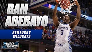 March Madness Highlights: Kentucky's Bam Adebayo