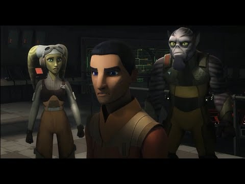 "[SCENE] Star Wars Rebels -  ""Sabine sees Ezra"" scene"