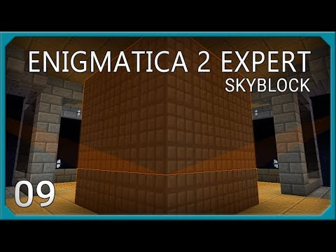 Enigmatica 2 Expert Skyblock Compact Machines + Advanced