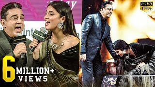 Kamal LIVE Singing with Shruti - A very emotional moment of Kamal & Shruti on stage!