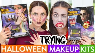 Video TRYING $5 HALLOWEEN MAKEUP ft Miranda Sings! download MP3, 3GP, MP4, WEBM, AVI, FLV Januari 2018