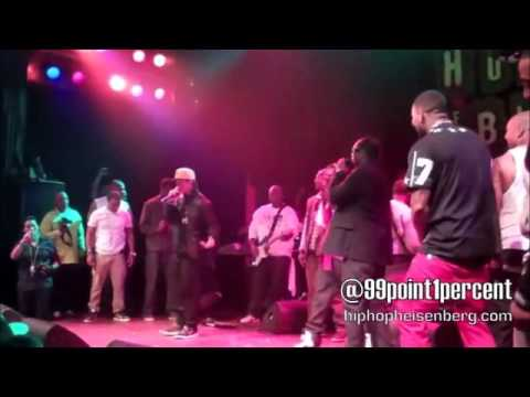 The Game & Bone Thugs-N-Harmony - Freestyle & 1st of tha Month (Live) 12/11/12