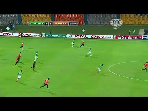 Atlético Nacional 1 - 0 Deportivo La Guaira Copa Sudamericana 2014