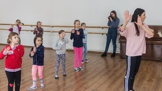 Edyta Szachniewicz uczyła ostrowskie dzieci tańca