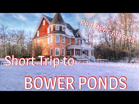 TAKE A LOOK AT THE BOWER PONDS IN RED DEER,  AB| ICE SKATING| PINOY COUPLE IN CANADA