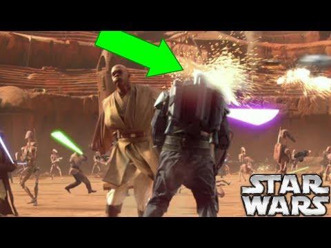 The RARE Force Ability That Mace Windu Used to Kill Jango Fett - Star Wars Explained