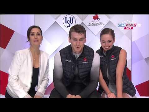 Skate Canada GP 2015 Ice Dance Free Skating 1080p