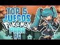 TOP 5 JUEGOS POKEMON PARA PC Fan Games mp3