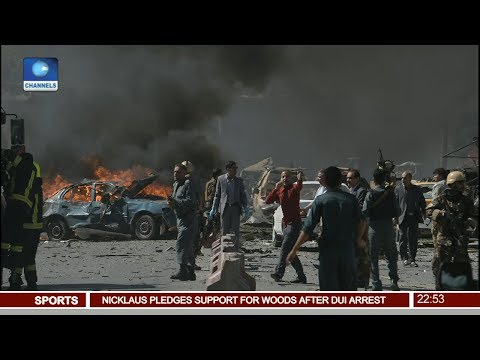 News@10: 100 People Killed, Over 400 Wounded In Kabul Bomb Attack 31/05/17 Pt. 4