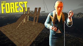 We Tried to Build a Boat and It was a Disaster in The Forest Multiplayer Survival!