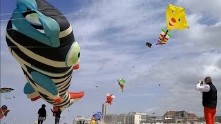 Lotto International Kite Festival 2015 - Oostende, Belgium