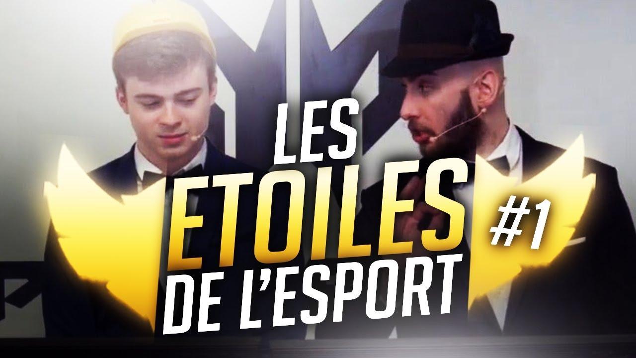 LES ETOILES DE L'ESPORT : LE RETOUR #1 - Chap & Alderiate