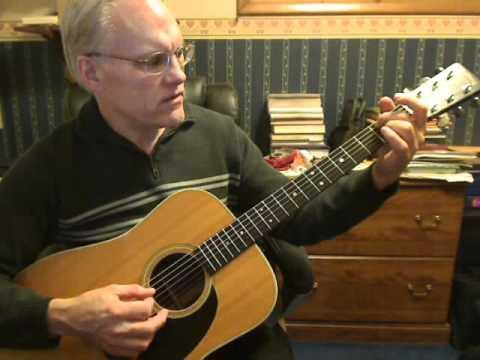 I Surrender All - Jadon Lavik version, DADGAD Acoustic Guitar Lesson 1